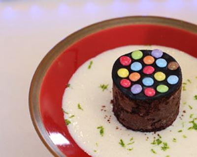 gateau au chocolat surprise