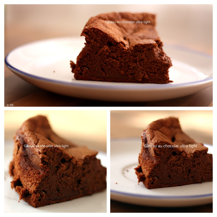 gateau au chocolat ultra light