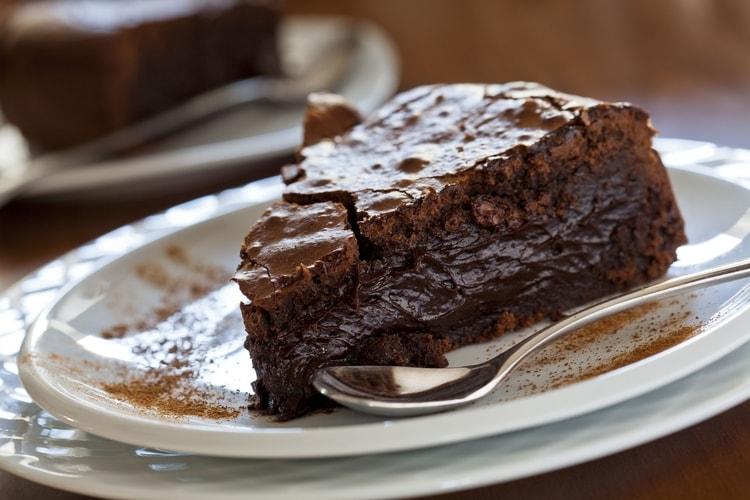 gateau au chocolat un peu fondant