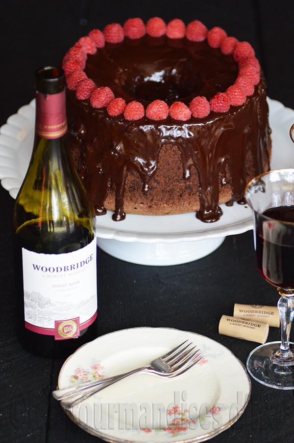 gateau au chocolat vin rouge
