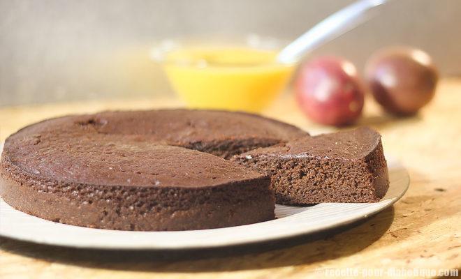 gateau au chocolat xylitol