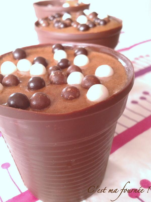 mousse au chocolat a congeler