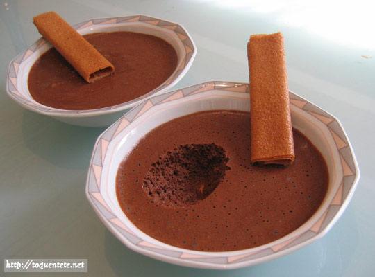 mousse au chocolat a la creme fleurette