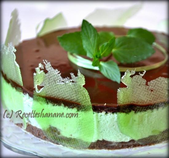 mousse au chocolat a la menthe