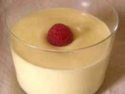 mousse au chocolat blanc sans oeuf