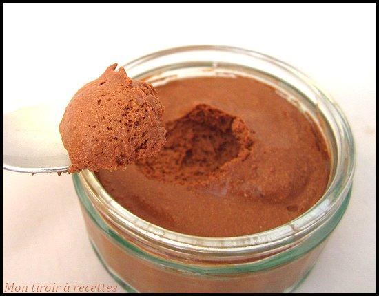 mousse au chocolat ca fait grossir