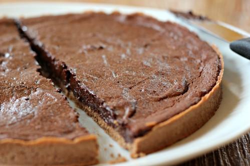 mousse au chocolat cuite
