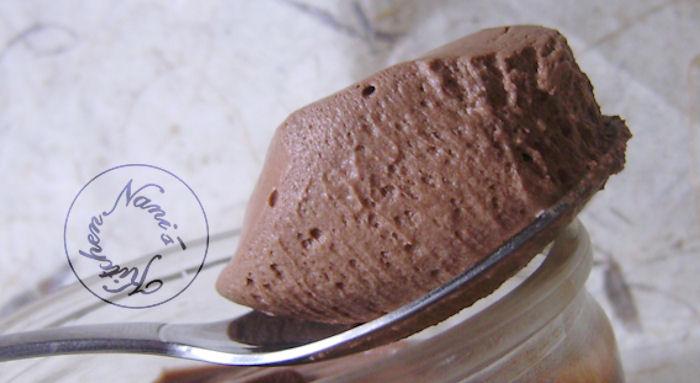 mousse au chocolat en anglais