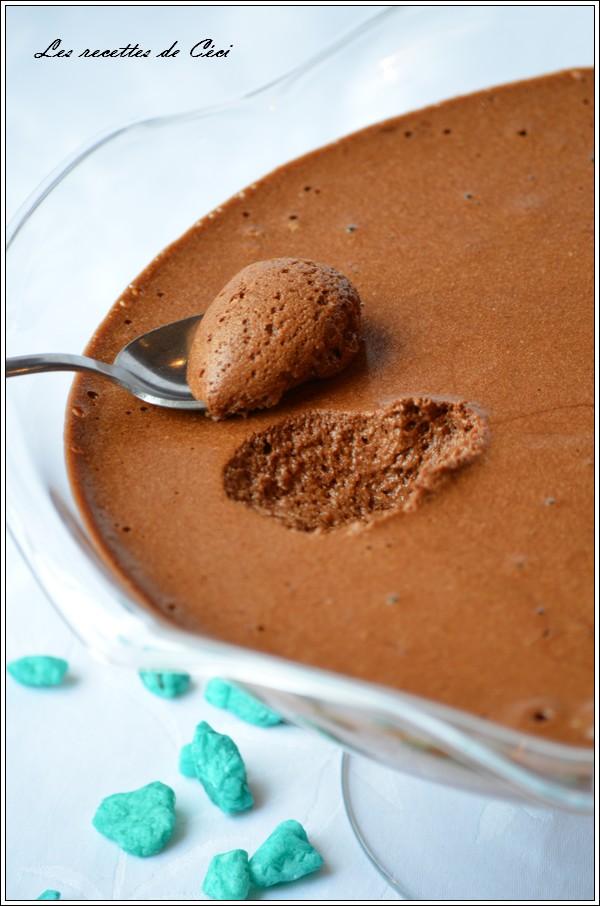 mousse au chocolat et beurre