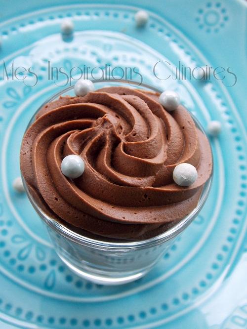 mousse au chocolat ganache