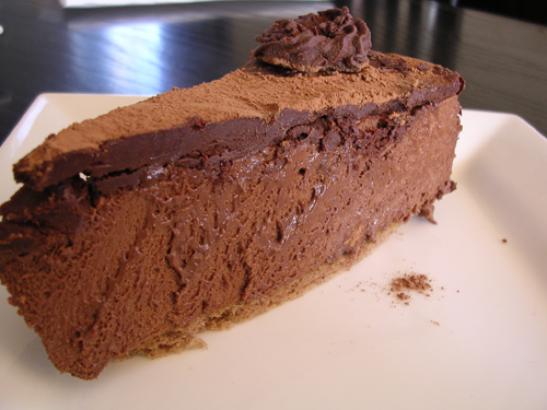 mousse au chocolat gateau