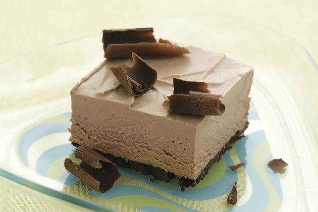 mousse au chocolat glacee