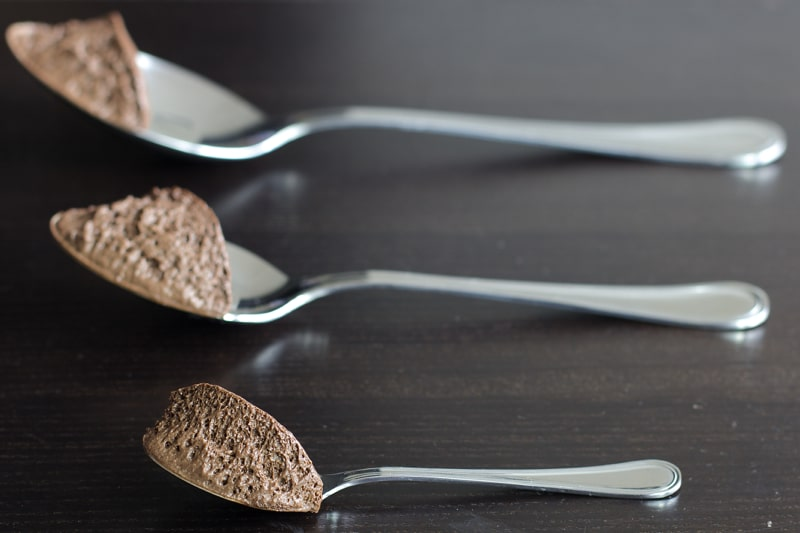 mousse au chocolat healthy thermomix