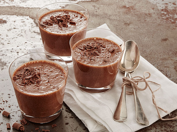 mousse au chocolat noir et lait