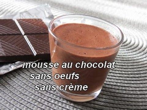 mousse au chocolat oeuf ou creme