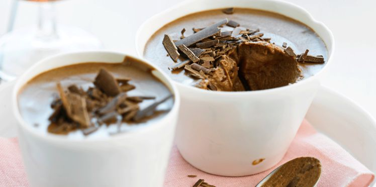 mousse au chocolat onctueuse