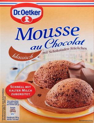 mousse au chocolat otker