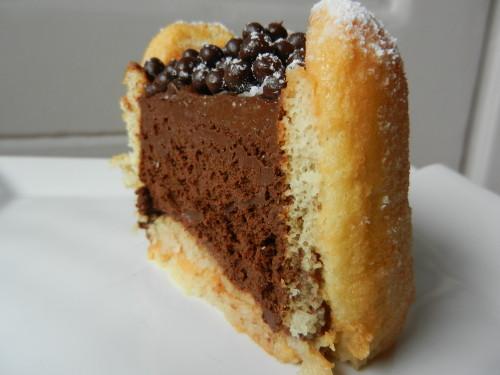 mousse au chocolat pour charlotte