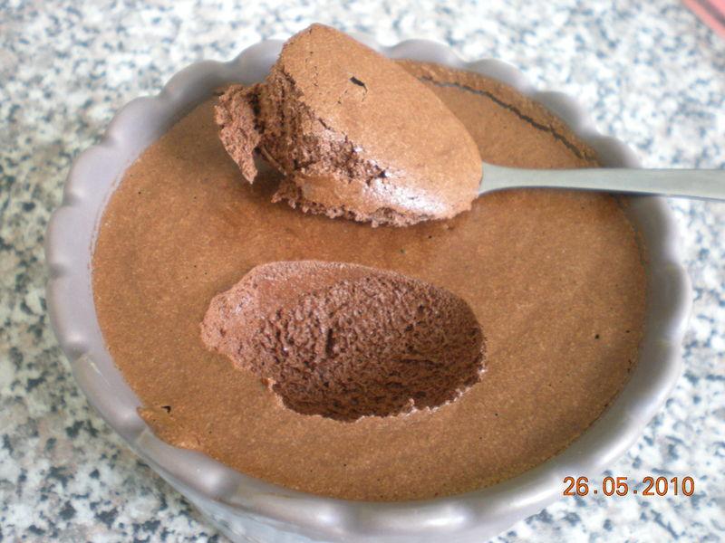mousse au chocolat ultra legere