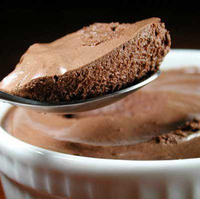 mousse au chocolat ultra mousseuse