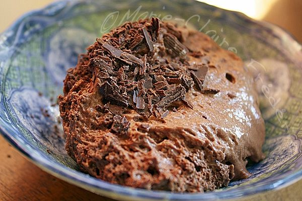 mousse au chocolat une tuerie