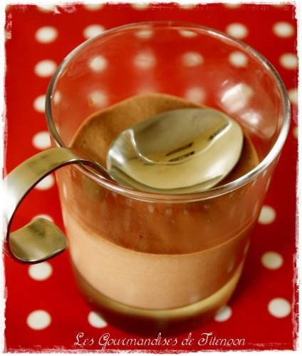 mousse au chocolat vegan creme soja