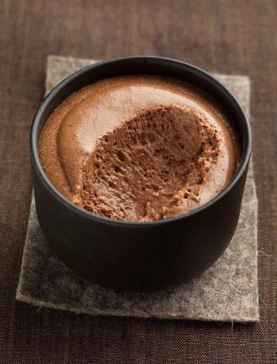 mousse au chocolat vite fait