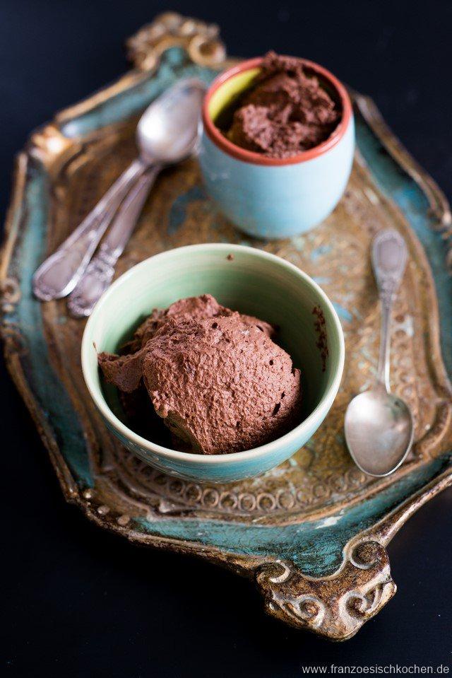 mousse au chocolat zu fest
