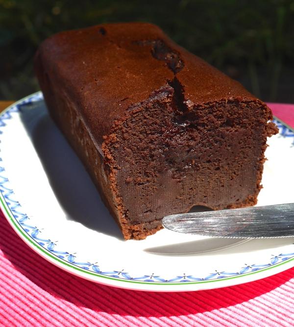 gateau au chocolat a la compote de pomme - Les desserts au ...