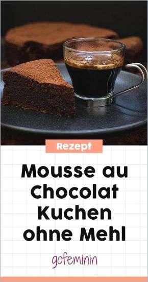 mousse au chocolat wie lange haltbar - Les desserts au